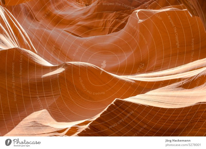 inside scenic Antelope Canyon in Page Nature Landscape Sand Rock Lanes & trails Stone Pink Red Colour Arizona Navajo Reservation USA america curves Erosion