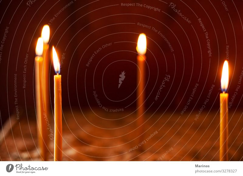 candles in ?rthodox church Feasts & Celebrations Church Monument Candle Dark Bright Religion and faith Holocaust light flame background Symbols and metaphors