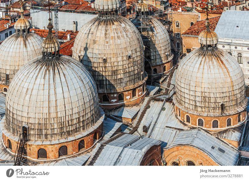 basilica of saint mark in Venice Church Building Landmark Historic Religion and faith Basilica Basilica of Saint Mark Marcus Place