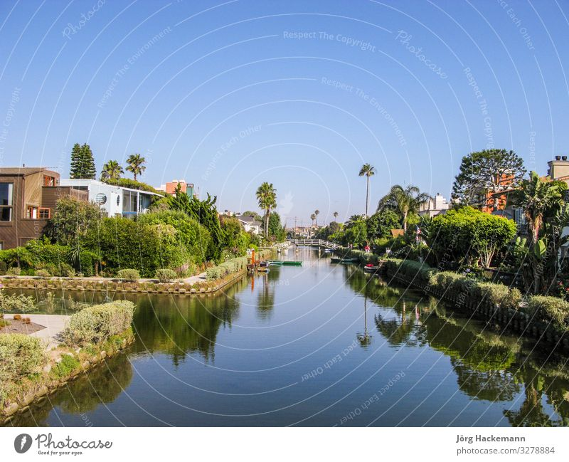 old canals of Venice in California, beautiful living area Beautiful Beach House (Residential Structure) Landscape Sky Tree Town Building Architecture Street
