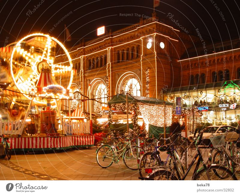 Bicycle Architecture Logistics Fairs & Carnivals Train station Hannover Encounter
