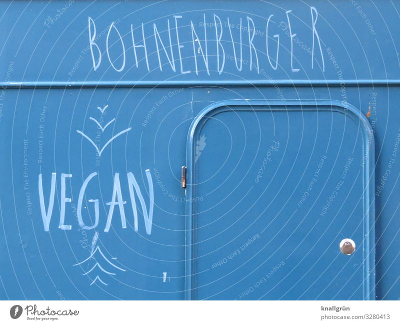 BOHNENBURGER Food Nutrition Stall Characters Eating Communicate Authentic Healthy Hip & trendy Delicious Sustainability Blue White Emotions Responsibility