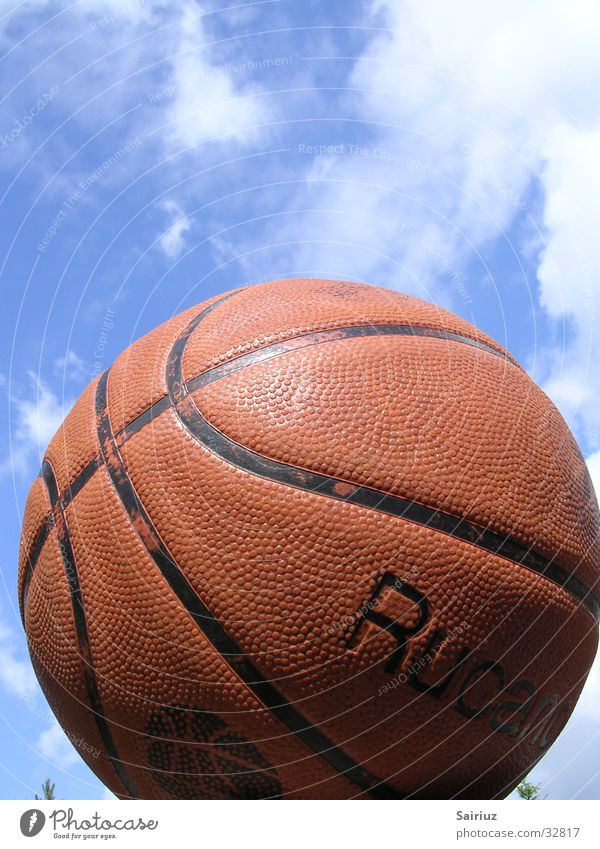 Sky Clouds Sports Ball Basketball Skyward
