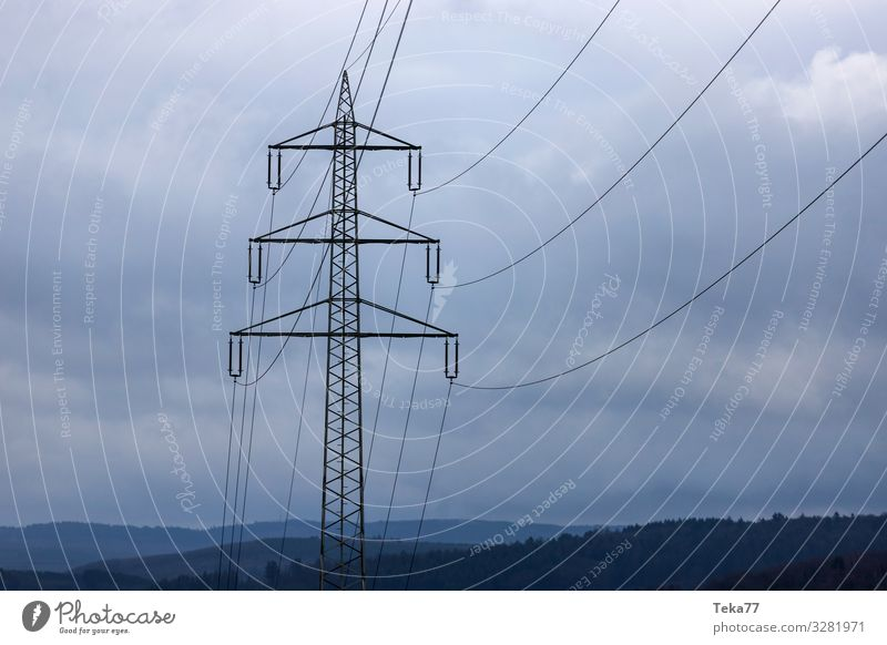 #High voltage Technology Energy industry Renewable energy Energy crisis Manmade structures Building Esthetic High voltage power line Electricity Colour photo