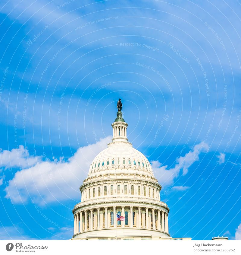 Capitol Building, Washington Dome Fairness USA America American architecture attraction building capital United States Capitol color colour congress dc