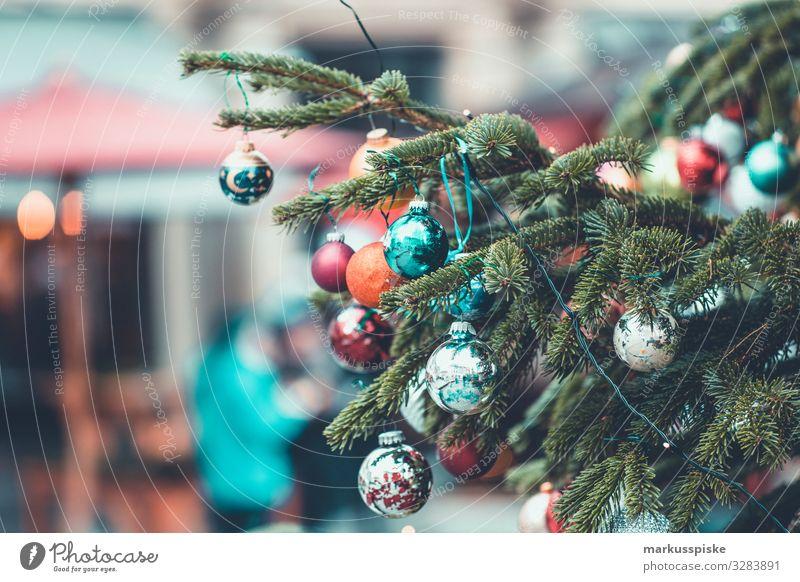 Christmas tree decoration Lifestyle Shopping Luxury Elegant Style Design Feasts & Celebrations Christmas & Advent Christmas Fair Christmas decoration