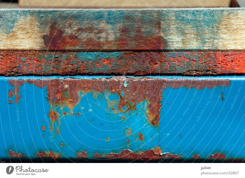 Colour Rust Surface Container Photographic technology Patina