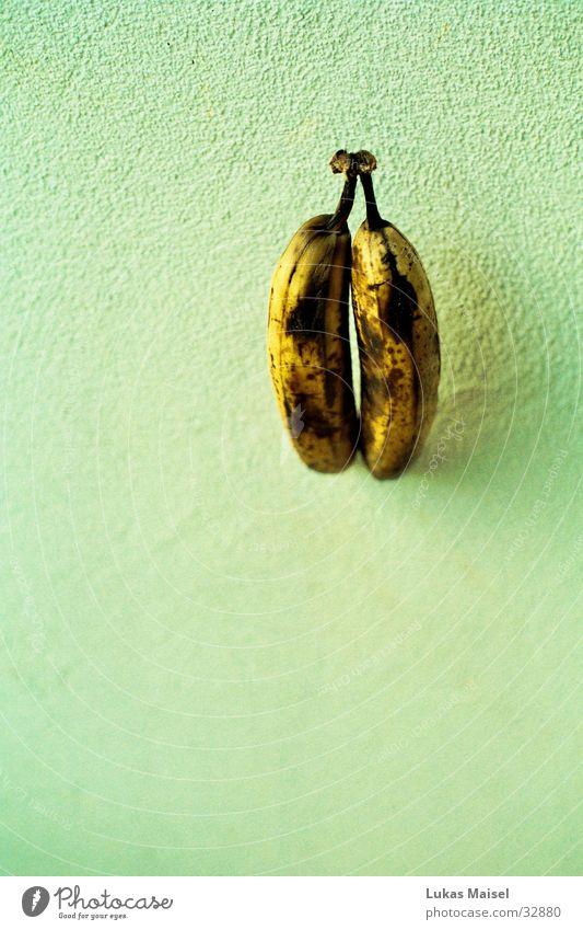 bananas Banana Yellow Brown Light blue Things focus curve Fruit