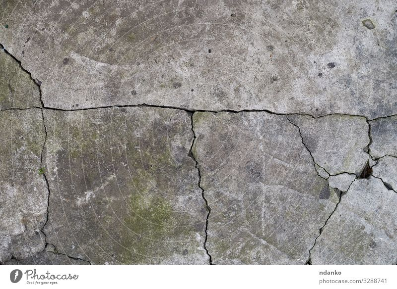 texture of gray cracked cement Earth Stone Concrete Old Dirty Retro Gray Green Cement backdrop Damage Antique Crack & Rip & Tear wall Blank background Stucco