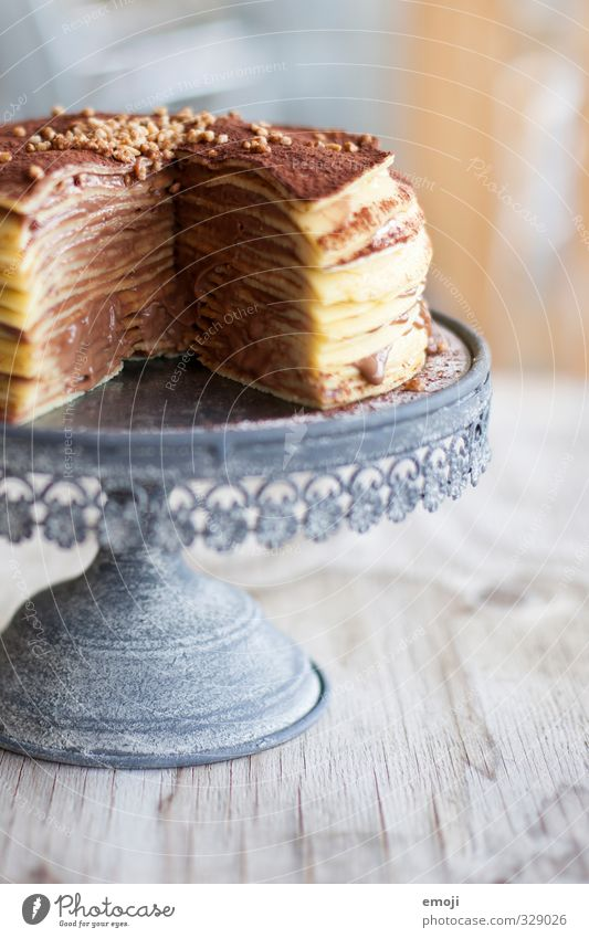 Nutrition Sweet Delicious Candy Cake Chocolate Gateau Dessert Unhealthy Rich in calories Cake plate