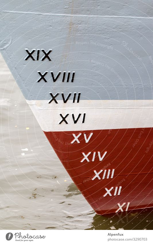 Roman decadence | written Navigation Passenger ship Sign Characters Digits and numbers Signs and labeling Swimming & Bathing Gray Red Accuracy Climate Mobility
