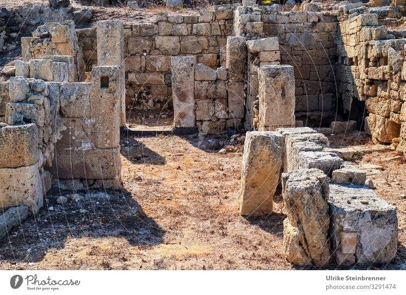 Contemporary History | Excavations in Tharros, Sardinia excavation Archeology Ancient Antiquity Contemporary Witnesses stones Historic History of the Roman