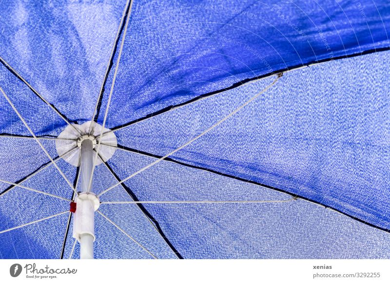 Vacation & Travel Summer Blue White Sun Beach Weather Climate Summer vacation Cloth Sunshade Weather protection Prop