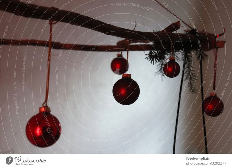 christmas balls Branch Decoration Christmas decoration