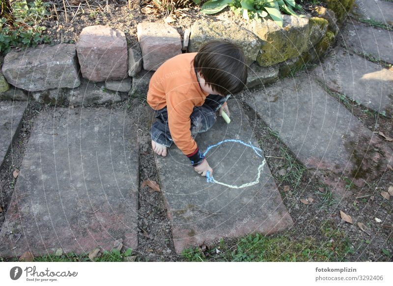 Child Human being Summer Calm Life Environment Emotions Boy (child) Small Art Garden Playing Contentment Leisure and hobbies Infancy Creativity