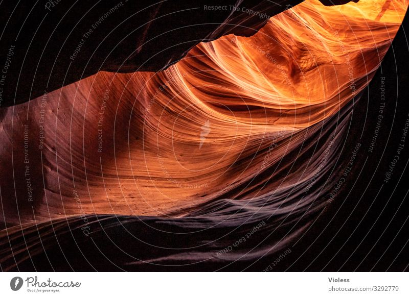wormhole Antelope Canyon Page USA Nature Arizona Lake Powel Navajo Reservation North America