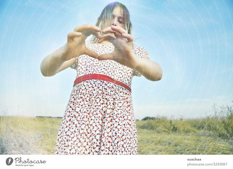 kind regards (2) Child Girl Hand Fingers Salutation Heart Kind regards With love Gesture Heart-shaped Love Affection Friendship communication Exterior shot