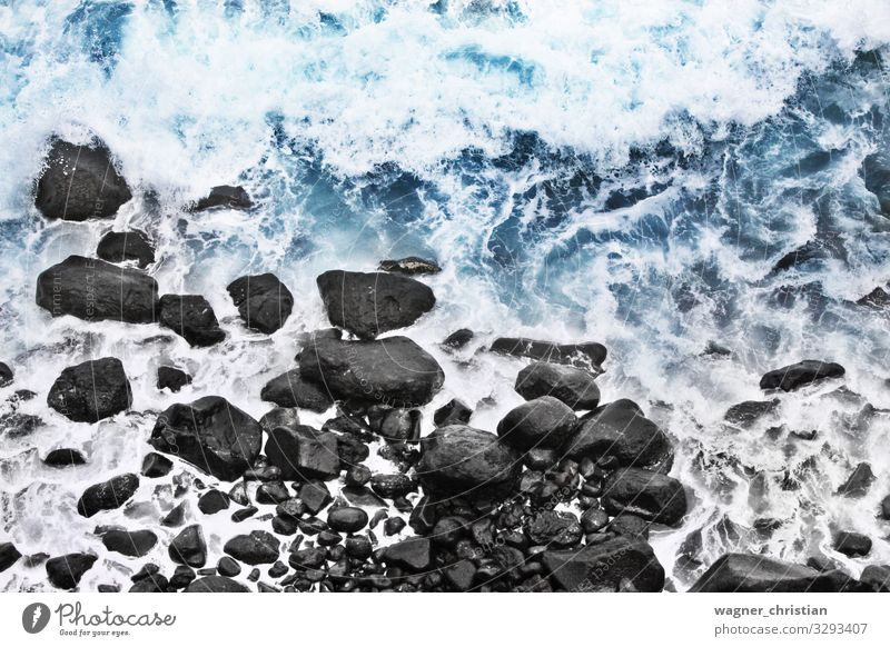 The Edge Beach Power Beautiful Top Cologne Fine Art Coast Stone Rock Ocean Atlantic Ocean Waves Swell Dynamics Water Elements Calm Travel photography Relaxation