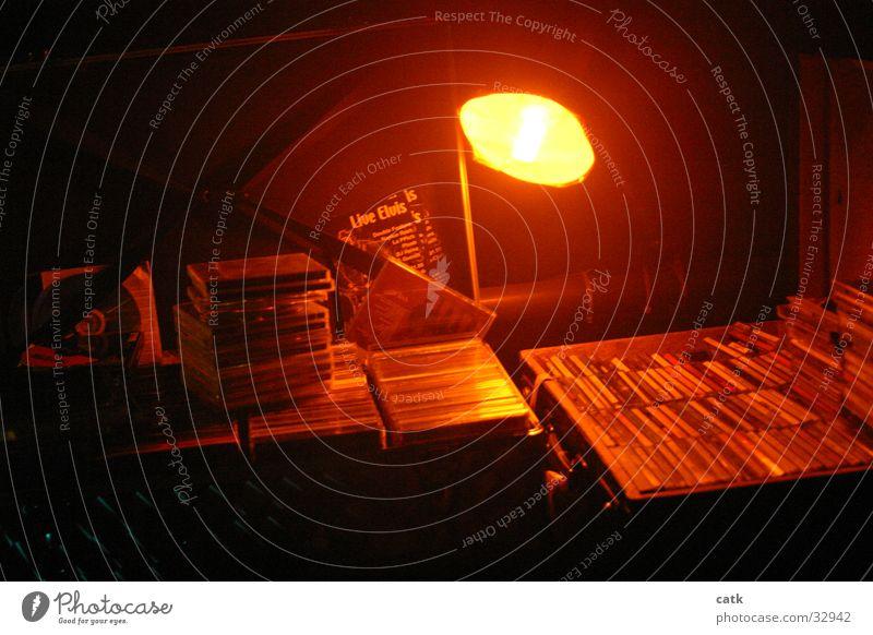 Old Lamp Lighting Radio (broadcasting) Suitcase Disc jockey Cliche CD Night life Data storage Dim