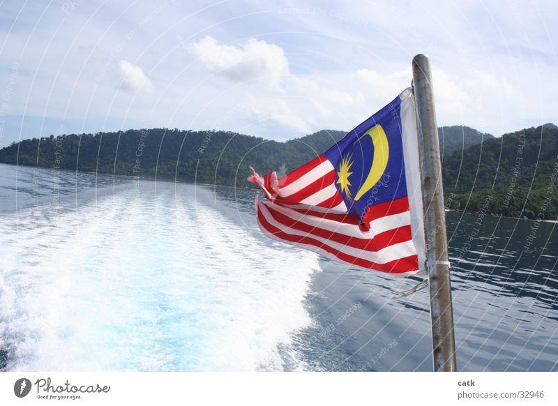 Ocean Beach Coast Watercraft Island Speed Driving Flag Navigation Aquatics Traffic lane Malaya Pulau Tioman