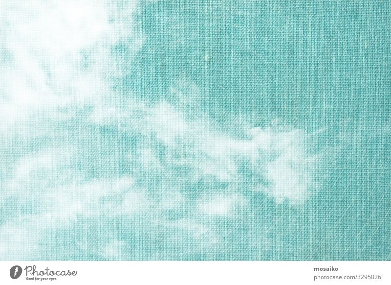 white clouds on blue textured background Lifestyle Elegant Style Design Joy Wellness Harmonious Well-being Contentment Senses Relaxation Meditation Spa Summer