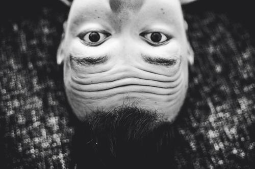 upside down perception face recognition pareidolia visual perception Distortion of perception inverted world optical illusion phantasm Visual impression Head