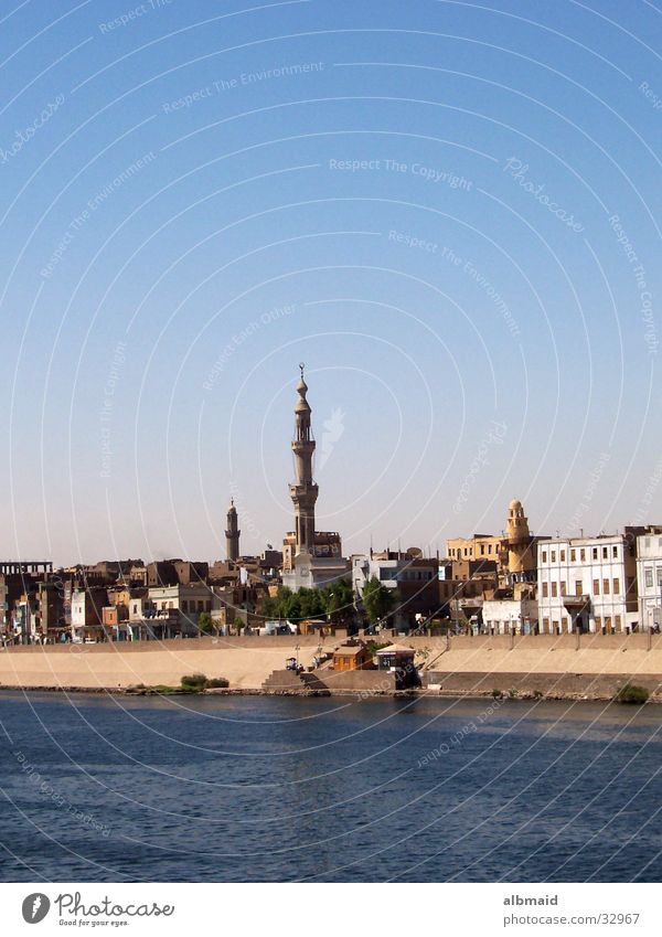 typically Egyptian Vacation & Travel Mosque Contentment Esna Nile cruise