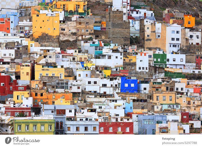 Town Architecture Tourism Trip Europe Island Historic Tourist Attraction Old town Spain Sightseeing Canaries Destination Gran Canaria Las Palmas de Gran Canaria