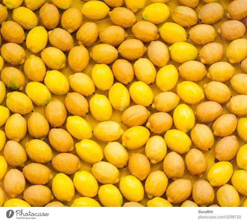 fruit pattern ripe yellow lemons Fruit Natural Juicy Yellow background citrus food Harvest health Lemon lemon background lemon pattern many Mature vitamins