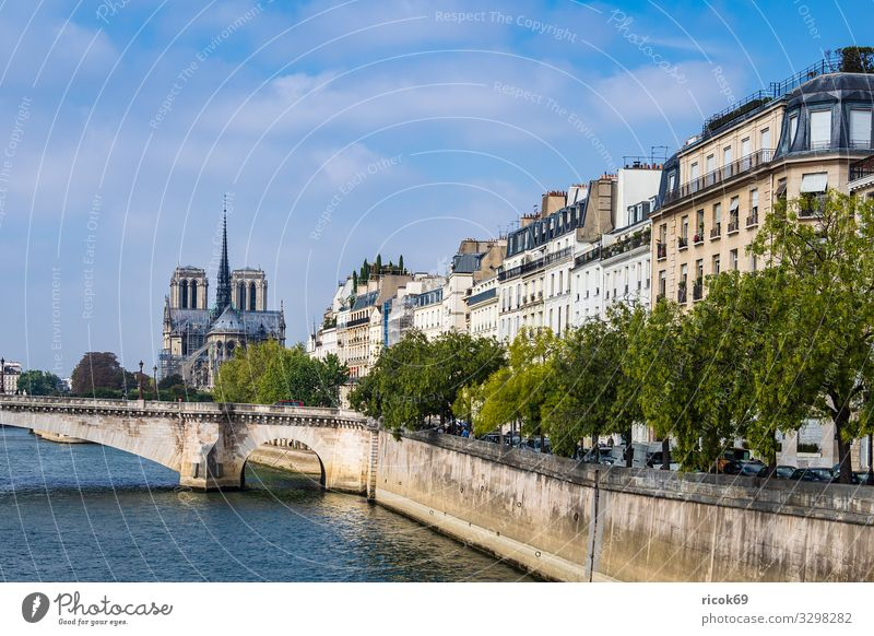 Vacation & Travel Old Blue Town Water Tree Clouds Architecture Autumn Building Tourism Europe Bridge Historic River Tourist Attraction