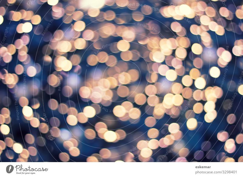 Bokeh abstract background bokeh Abstract nobody Light clearer light points more abstract Christmas Christmassy Copy Space Festive Decoration