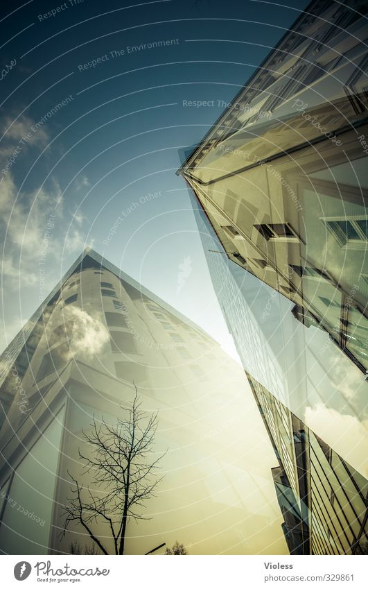 City House (Residential Structure) Living or residing High-rise Double exposure