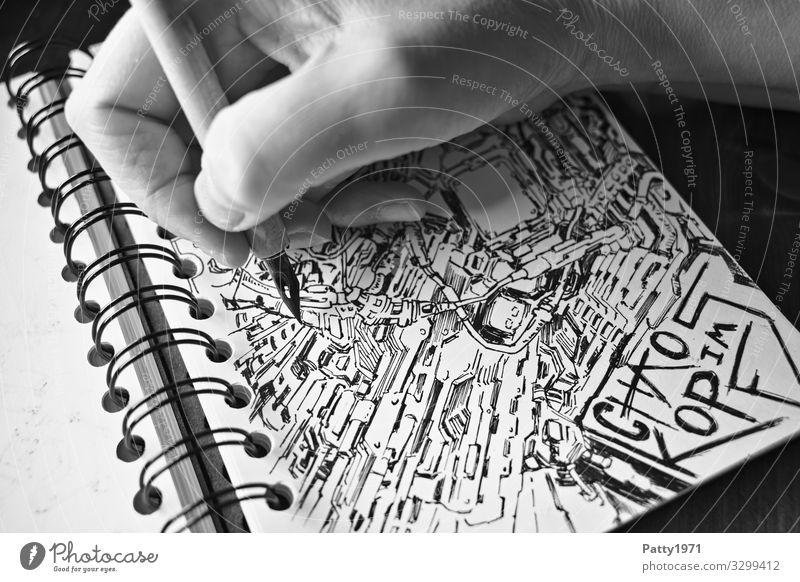 Human being Hand Emotions Art Moody Creativity Draw Stress Trashy Chaos Irritation Surrealism Drawing Whimsical Bizarre Work of art