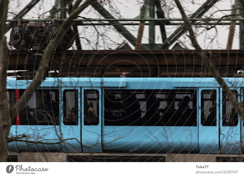 #Highway #Wuppertal #4 Vacation & Travel Winter Transport Means of transport Traffic infrastructure Passenger traffic Rail transport Train travel Railroad