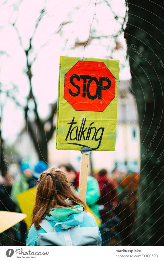 STOP TALKING Lifestyle Event Education Science & Research Technology Energy industry Energy crisis Young woman Youth (Young adults) Woman Adults Back Group