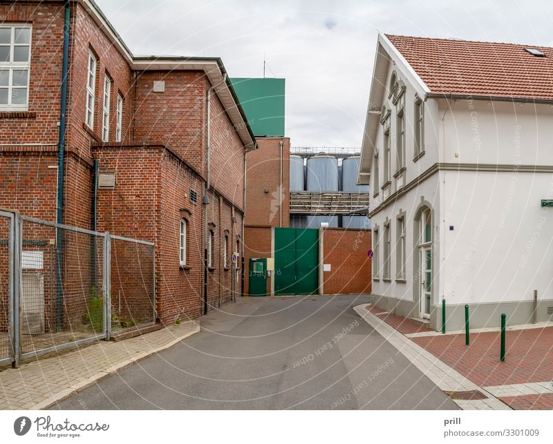 Jever in East Frisia House (Residential Structure) Culture Clouds Town Gate Manmade structures Building Architecture Facade Street Lanes & trails Tradition