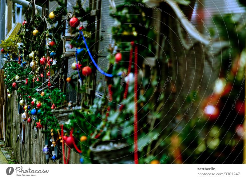 christmas decoration Christmas & Advent Christmas decoration Decoration Jewellery Glitter Ball Background picture Deserted Copy Space