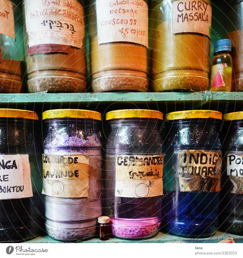 Trip Glass Herbs and spices Discover Mysterious City trip Sightseeing Expectation Morocco Essaouira