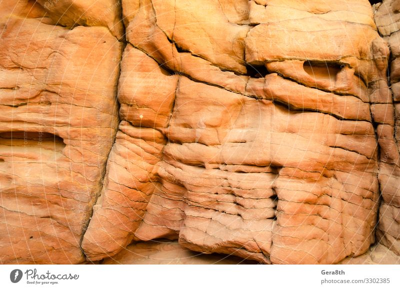 texture of orange stone rock in a colored canyon close up Nature Colour Mountain Stone Rock Bright Consistency Blank