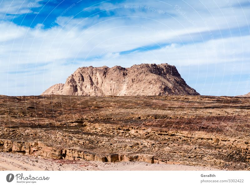 high mountain in the desert in Egypt Vacation & Travel Nature Summer Colour Landscape Mountain Warmth Tourism Stone Rock Bright Vantage point Seasons Exotic