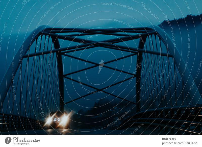 Blue Architecture Lighting Lamp Rain Car Metal Illuminate Fog Bridge Floodlight Car headlights