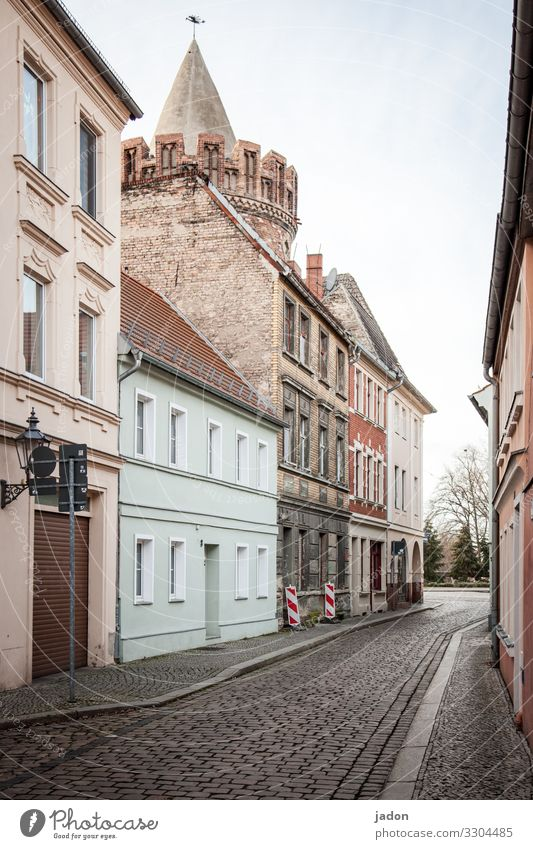 Old Town House (Residential Structure) Street Architecture Lanes & trails Building Facade Flat (apartment) Elegant Esthetic Beautiful weather Historic Past