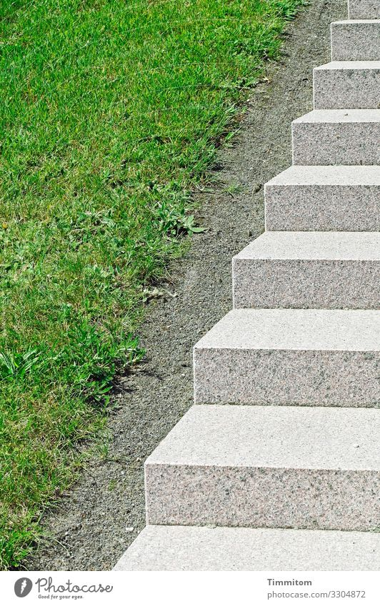 Green White Environment Emotions Grass Stone Gray Park Stairs Esthetic Beautiful weather Clean Denmark Orderliness Access