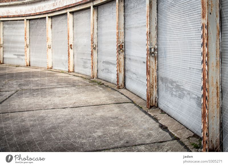 Old House (Residential Structure) Architecture Wall (building) Building Wall (barrier) Historic Past Logistics Manmade structures Decline Rust Steel Gate