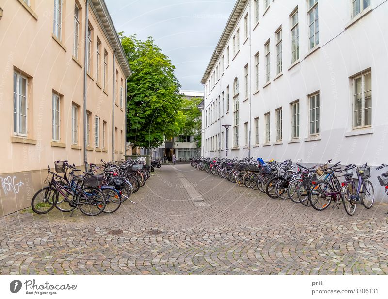 Oldenburg in Germany House (Residential Structure) Culture Town Old town Pedestrian precinct Manmade structures Building Architecture Facade Street