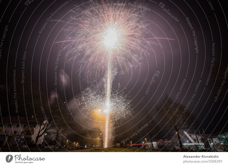 fireworks Feasts & Celebrations New Year's Eve Emotions Moody Joy Happy Happiness Enthusiasm Euphoria Firecracker Party Party mood Colour photo Exterior shot