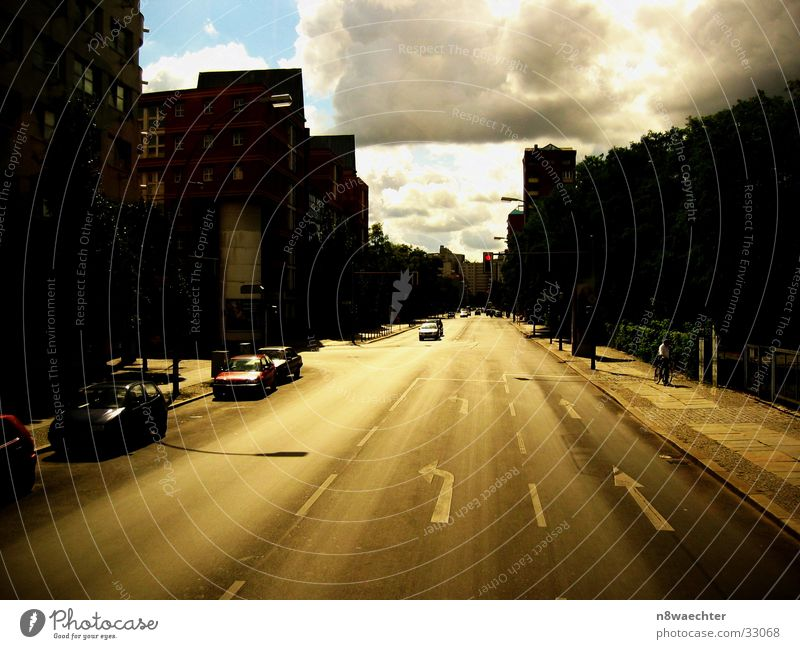 Sky Sun Street Dark Warmth Brown Transport Physics Tracks Cloud formation