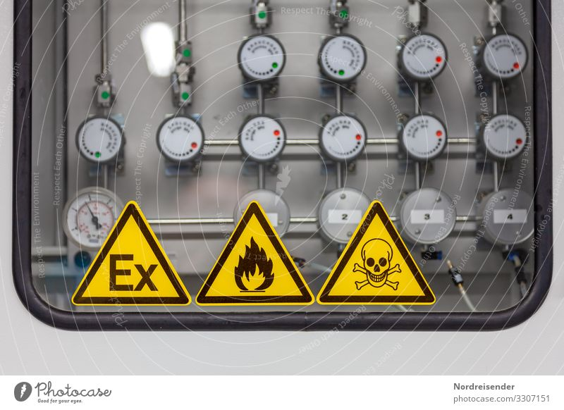 Dangerous mixture Work and employment Profession Workplace Factory Economy Business Company Machinery Technology Science & Research Advancement Future High-tech
