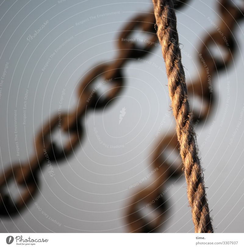 Networking #20 Workplace Beautiful weather Navigation Rope Dew Chain Chain link Hang Esthetic Athletic Authentic Dark Firm Maritime Force Passion Safety