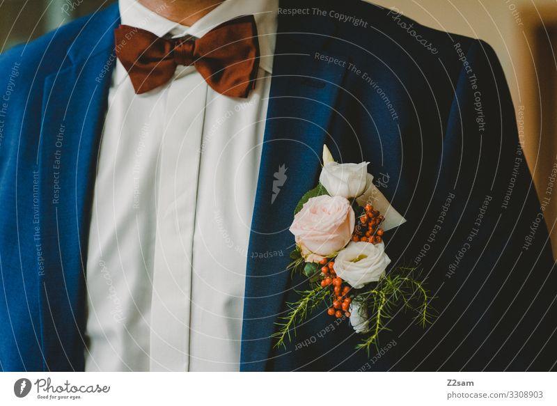 bridegroom Lifestyle Elegant Style Wedding Masculine Fashion Shirt Bow tie Hip & trendy Beautiful Modern Anticipation Beginning Esthetic Resolve Expectation